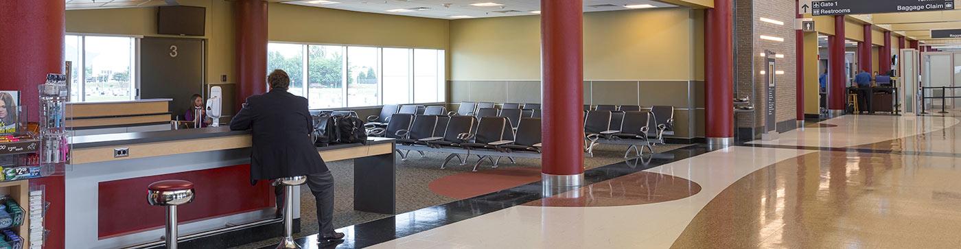 Roanoke-Blacksburg Regional Airport Terminal Image