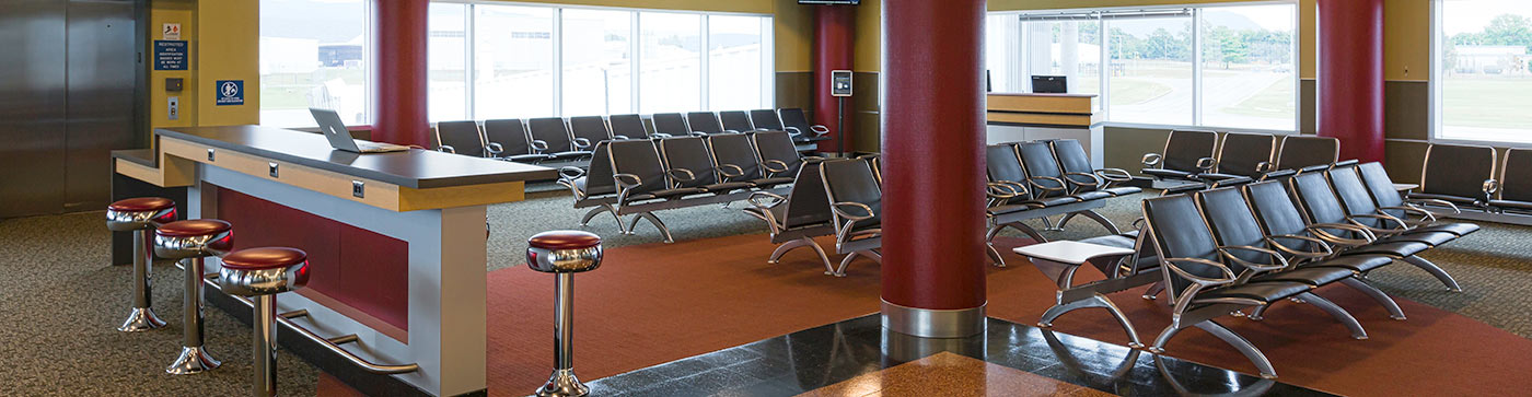 Roanoke-Blacksburg Regional Airport Terminal Image